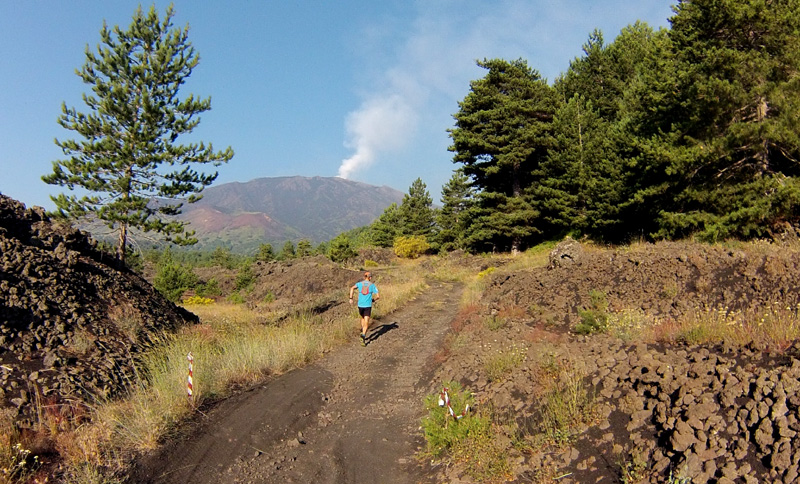 Etna Trail 2015 – On the black run